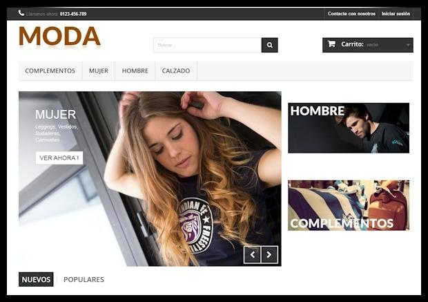 Crear tienda online de Moda por Dropshipping