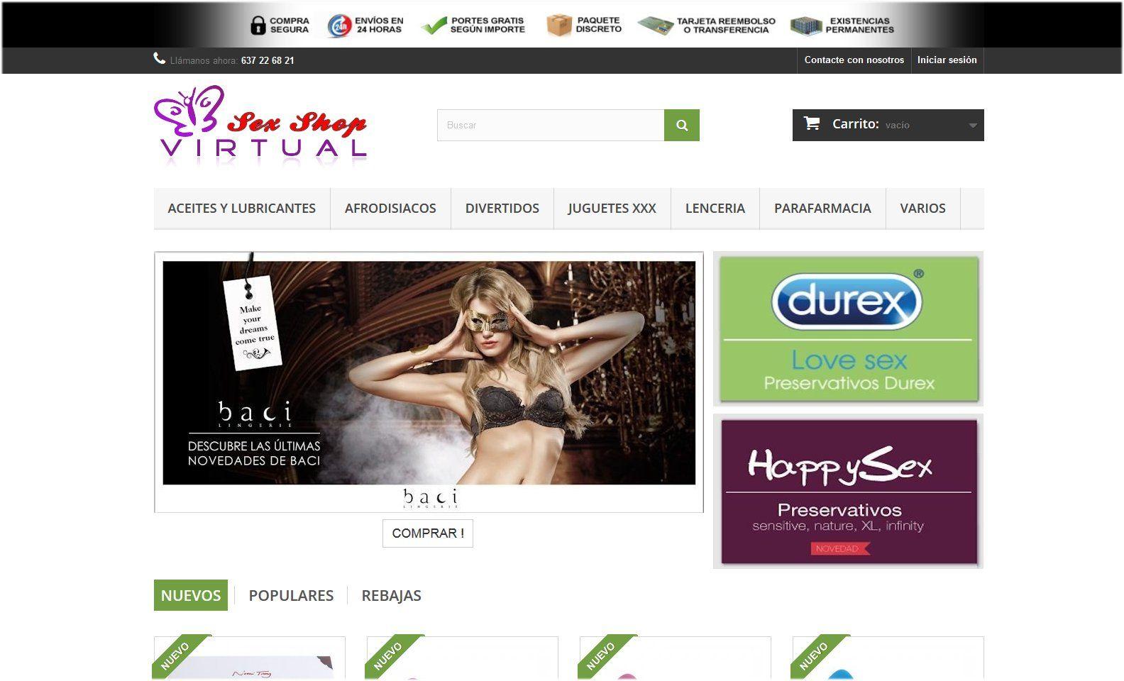Online sex shop aus