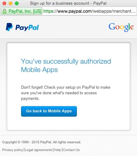Cómo integrar PayPal en el creador de APPS de Franquicia de Impacto o Franquicia Global