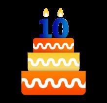 cumple 10 años